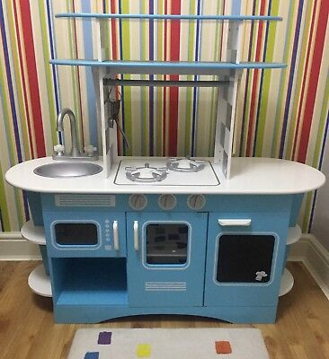 Early Learning Centre Elc Wooden Kids Play Kitchen Rrp 120 33 00