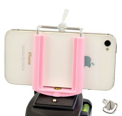 Cell Phone Tripod Adapter Mount with Desk Stand for iPhone Samsung Galaxy