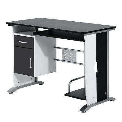 Computer Desk Laptop Table PC Workstation W/ Drawer Keyboard Tray CPU Stand