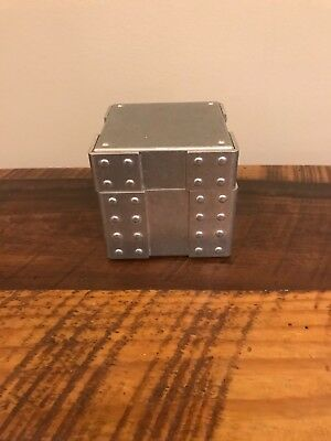 Used RARE OAKLEY Time Bomb Watch Case. Metal w/rivets!