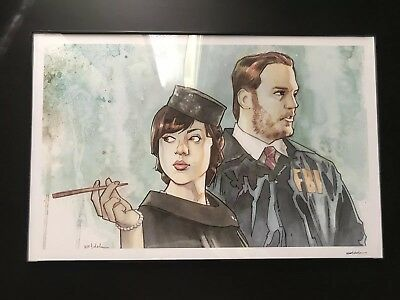 Burt Macklin And Janet Snakehole 11X17 Parks And Recreation Poster + Frame
