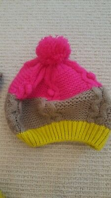 Mini Boden hat, gloves and Scarf Set