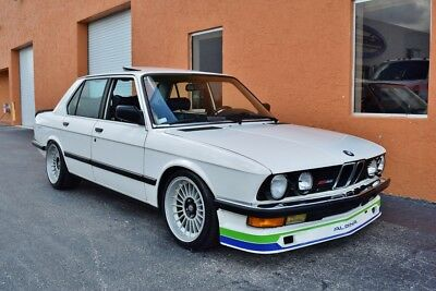 1988 BMW 5-Series e28 535i Alpina Built Alpina B9 3.5L ITB's Full Conversion No Expense Spared Well Sorted Example