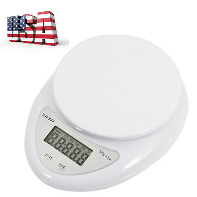 5 Kg Digital LCD Electronic Weighing Scales Postal Postage Parcel Kitchen Scale