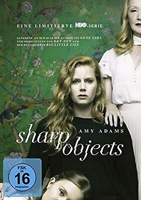 Sharp Objects (Mini Serie) Neu und Originalverpackt 4 DVDs Amy Adams
