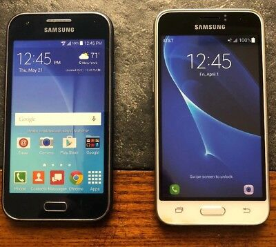 (2)Samsung Dummy Display Fake Phone use for Toy or Crafts