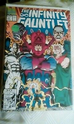 Infinity Gauntlet #5, First Printing, Marvel, 1991, VF