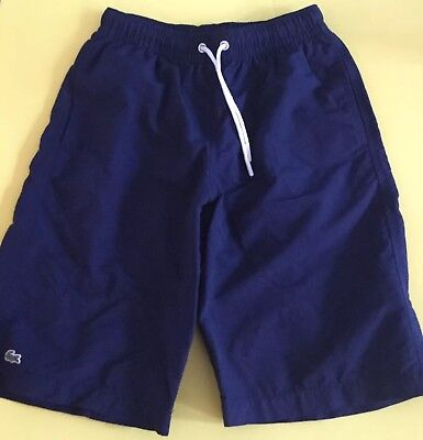 Boys Lacoste Bathing Suit Swim Trunks Sz 10