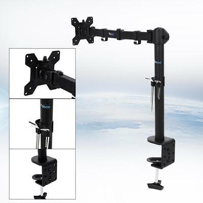 "Universal 13-27"" Single Arm LCD LED Monitor Stand Desk Mount 360° Tilt Swivel AU"