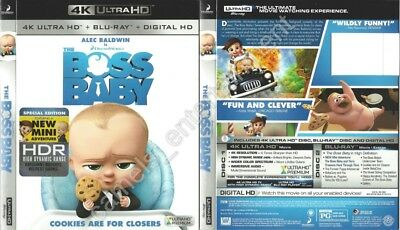 The Boss Baby (SLIPCOVER ONLY for 4K Ultra HD)