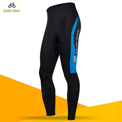 New Men's Cycling Tights Spring Autumn Wear Padded Legging Cycling Trouser Pant