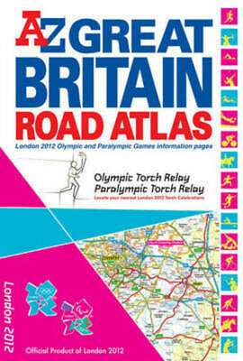 A-Z Road Atlas S.: Great Britain London 2012 Road Atlas by Geographers' A-Z Map