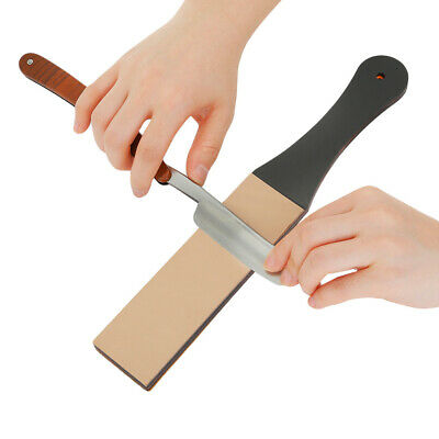 Wide Leather Sharpening Strop Coarse 2 Side Polishing Paste For Razor 4.5cm New