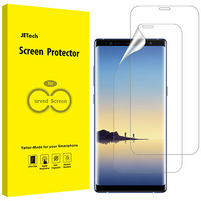 JETech Screen Protector for Samsung Galaxy Note 8 TPU HD Film 2-Pack