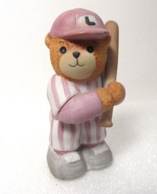 Lucy & Me Baseball Player in Stripes Enesco Figurine