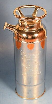 MARTINI MIXED DRINK SHAKER Vintage Barware MUSICAL FIRE THIRST EXTINGUISHER   1