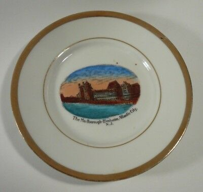 "Antique The Marlborough Blenheim Atlantic City NJ 5 1/8"" Plate"