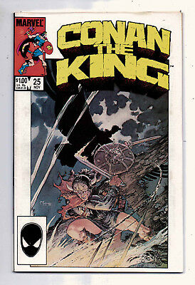 Conan the King #25 and #26, Marvel, 1985, VF+ condition, Robert E Howard