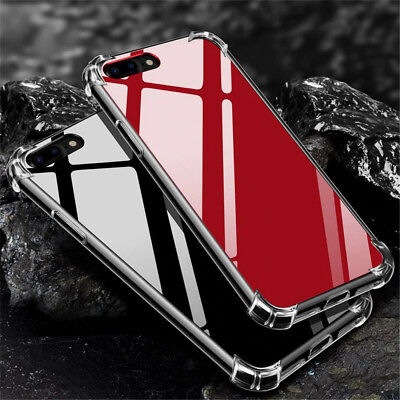iPhone XS Max XR 7 8 6S Plus Ultra Slim Hard Tough Mirror Case Cover for Apple