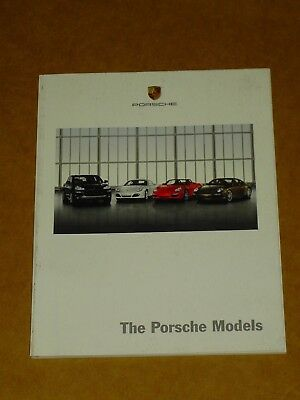 2008 Porsche Model Range Sales Brochure Nice! 54 Pages