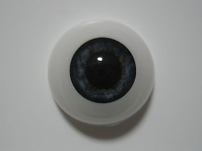 Reborn doll eyes 20mm Half Round  NEWBORN BLUE