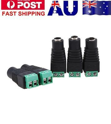 5PCS 12V Male & Female 2.1x5.5mm DC Power Jack Plug Adapter Connector Array