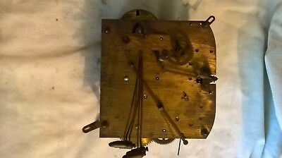 Antique westminster chime movement.