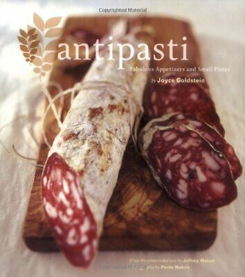 Antipasti by Joyce Goldstein Paperback Book The Cheap Fast Free Post