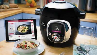 New Unused Tefal Cook4Me Connect Multi-Cooker with Interactive Control Panel 6L