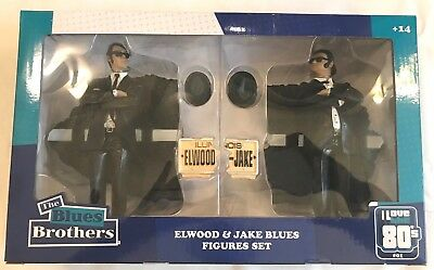 FIGURINES SD toys LES BLUES BROTHERS JAKE AND ELWOOD 2PK
