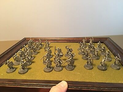 Games Workshop Lord of the Rings LOTR Warriors of Minas Tirith x 36