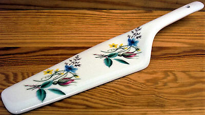 Country Garden Cake Server Fine Bone China Cake Slice Cake Pie Server