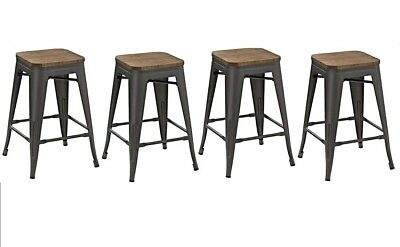 Surprising Btexpert 30 Inch Bar Stool Modern Solid Steel Stacking Pdpeps Interior Chair Design Pdpepsorg
