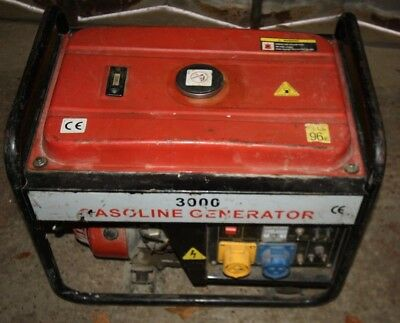 CP) 3000 Gasoline Generator & GX200 Engine **MK COLLECTION ONLY**