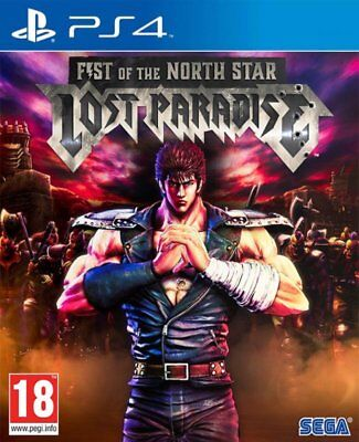 Juego  Koch Media  Playstation 4  Fist Of The North Star - Lost Paradise  Nue...