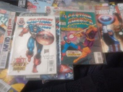 Rare marvel captain america bundle ,inc.1st issue  vfn condition