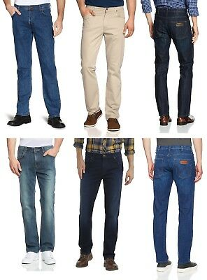 WRANGLER Jeans New Mens Denim & Soft Pants - End of Line Clearance Various Style