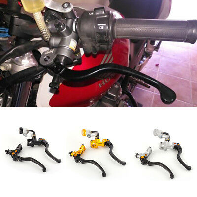 22mm Piston 19mmx18 Hydraulic Brake Cable Clutch Master Cylinder Pump Levers
