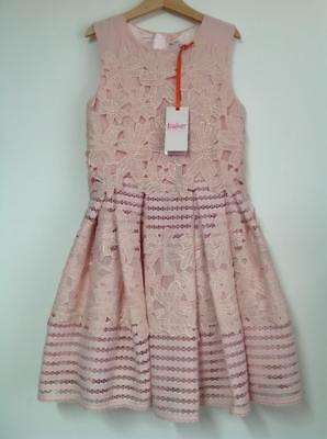 Baker by Ted Baker - 'Girls' pink lace prom dress - BNWT - AGE 10