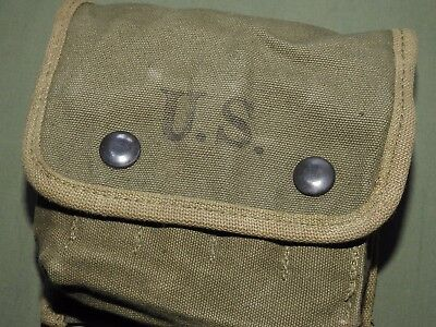 US Army USMC Marine WW2 M-2 JUNGLE FIRST AID KIT POUCH N/MINT 1944 Medical Carry