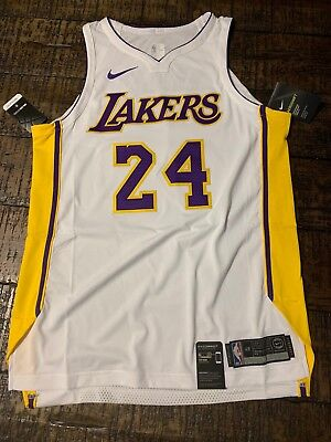 649e41cde Nike Los Angeles Lakers Kobe Bryant 24 Icon Authentic Jersey SZ L AQ2106-100