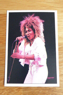 Tina Turner Soft Cell Panini The Smash Hits Collection 86 Sticker # 35 1986