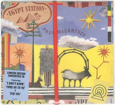 Paul Mccartney Egypt Station Limited Concertina Edition Sealed Cd New