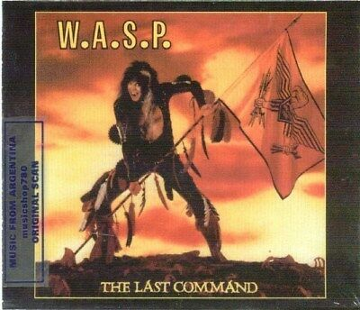 Wasp The Last Command Sealed Cd New