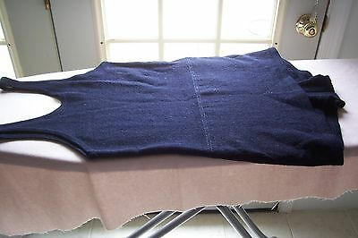 Vtg Antique Rugby Knitting Mills Bathing Suit Swim Wear 100% Worsted Wool 1920's