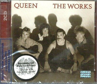 Queen The Works Sealed 2 Cd Set New