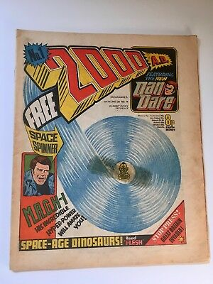 2000Ad Prog 1 (26 February 1977) Very Good Condition