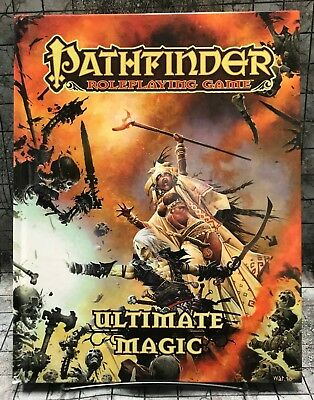 2011 Pathfinder Roleplaying Game Ultimate Magic RPG D&D