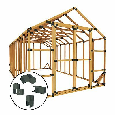 E-Z Frames 10 ft. W x 20 ft. D Greenhouse