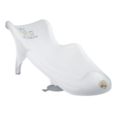 Baby Infant Bath Tub Safety Seat Support Chair (White Zebra)